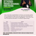 CONFERENCE: AGROECOLOGY AS A PATHWAY TOWARDS SUSTAINABLE  FOOD SYSTEMS